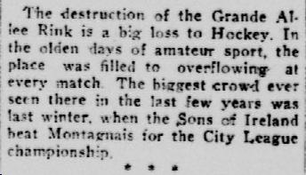 Quebec Chronicle, 30 octobre 1918