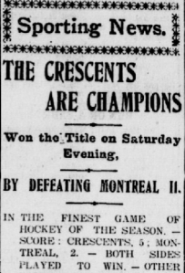 titre Crescents 5 Montreal 2