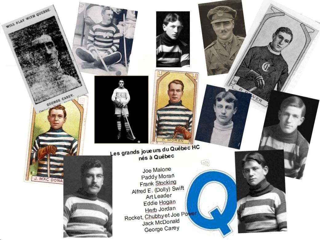 les grands joueurs du Québec HC nés à Québec