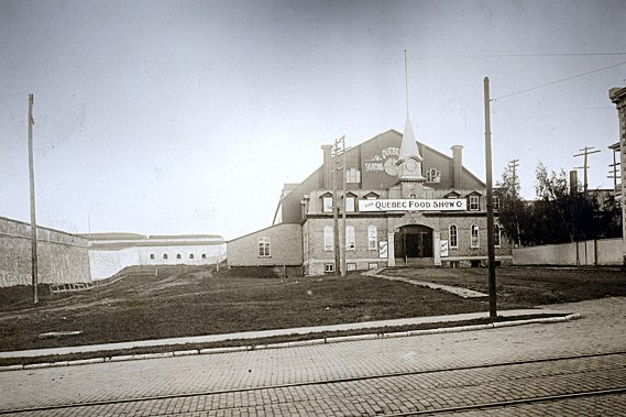 Quebec Skating Rink, Archives commission des champs de bataille nationaux
