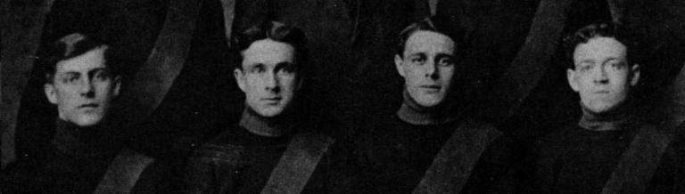 Oatman, un joueur puis Malone et McDonald avec Waterloo en 1910.