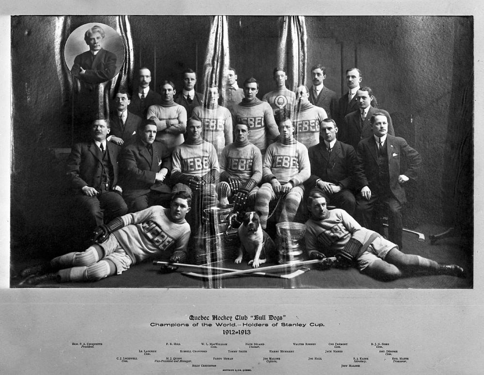 Il y a 100 ans: Québec gagnait sa dernière Coupe Stanley. (1/6)