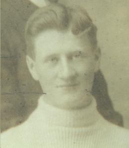 George McCarron, en 1898 avec les Crescents de Québec.