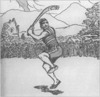 joueur de hurley, historyirland.com