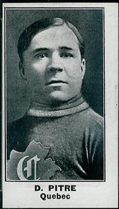 Didier Pitre à Québec? Sur une carte de hockey seulement. (1/2)