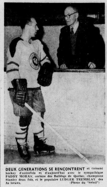 1956 03 07 Paddy Moran et Gilles Tremblay
